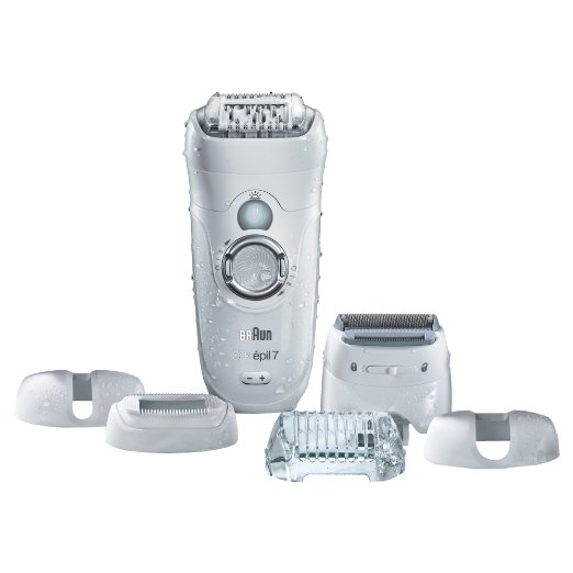 BRAUN SILK-EPIL 7 7-561 - WET & DRY CORDLESS EPILATOR
