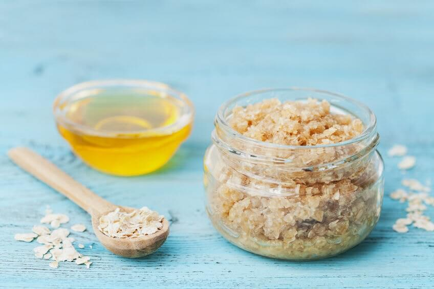 Body scrub exfoliators